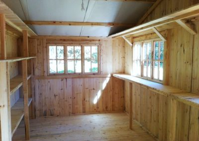 Wendys & Sheds -16mm T&G - Interiors.12