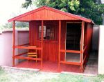 Wendys & Sheds -16mm T&G - Wendy houses with patio's1