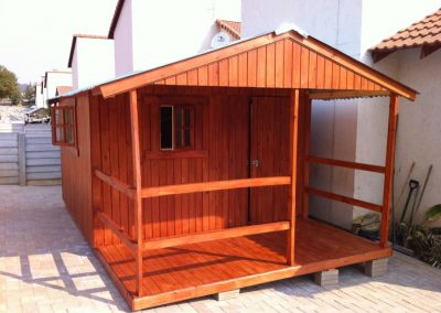 Wendys & Sheds -16mm T&G - Wendy houses with patio's10