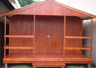 Wendys & Sheds -16mm T&G - Wendy houses with patio's13