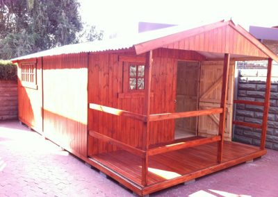 Wendys & Sheds -16mm T&G - Wendy houses with patio's16