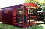 Wendys & Sheds -16mm T&G - Wendy houses with patio's18