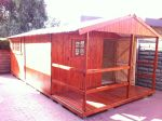 Wendys & Sheds -16mm T&G - Wendy houses with patio's29