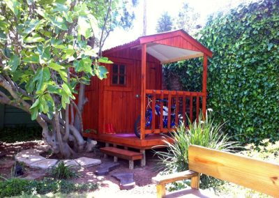 Wendys & Sheds -16mm T&G - Wendy houses with patio's3
