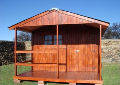 Wendys & Sheds -16mm T&G - Wendy houses with patio's8