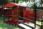 Wendys & Sheds -16mm T&G - Wendy houses with patio's19