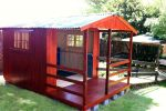 Wendys & Sheds -16mm T&G - Wendy houses with patio's31