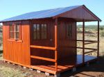 Wendys & Sheds -16mm T&G - Wendy houses with patio's34