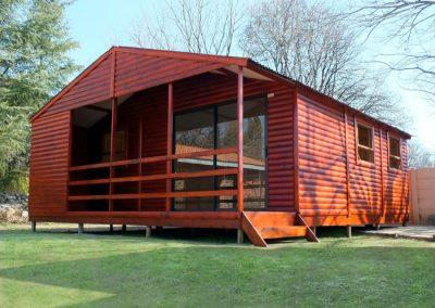 Wendys & Sheds -Log Cabin Exterior11