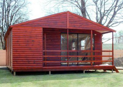 Wendys & Sheds -Log Cabin Exterior12