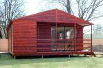 Wendys & Sheds -Log Cabin Exterior35
