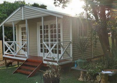 Wendys & Sheds -Log Cabin Exterior46