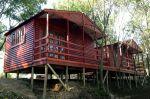 Wendys & Sheds -Log Cabin Exterior5