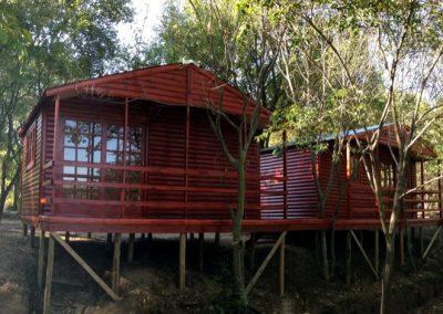 Wendys & Sheds -Log Cabin Exterior7