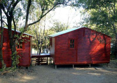 Wendys & Sheds -Log Cabin Exterior9